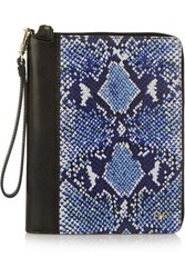 Diane Von Furstenberg Snake Print Leather Ipad Mini Case