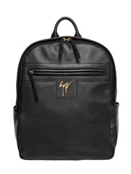 Giuseppe Zanotti Textured Leather Backpack