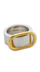 Marc By Marc Jacobs Ferus Buckle Up Ring Argento Multi