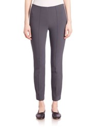 Vince Stitch Front Seam Leggings Dark Grey