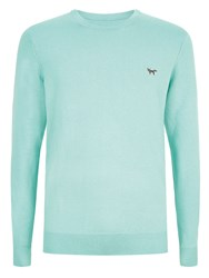 Wolsey Crew Neck Pull Over Jumper Green