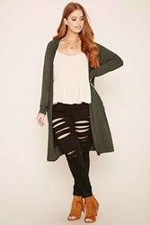 Forever 21 Plus Size Hooded Cardigan
