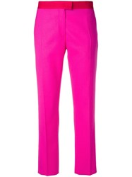 Paul Smith Ps By Tailored Cropped Trousers Pink