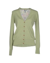 Met And Friends Cardigans Light Green