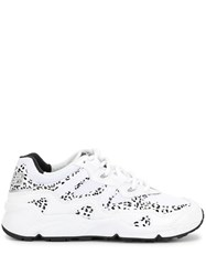 New Balance 850 Leopard Print Sneakers White