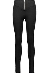 Sandro Perse Stretch Knit Leggings Black