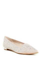 Enzo Angiolini Ayaki Smoking Slipper Beige