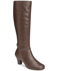 Aerosoles Margarita Tall Dress Boots Women's Shoes Brown