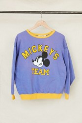 Urban Renewal Vintage Mickey's Team Crew Neck Sweatshirt Assorted