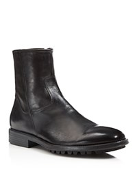 To Boot New York Harrison Side Zip Boots Nero