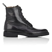 Barneys New York Men's Side Zip Boots Black Size 6 M