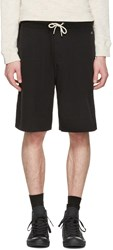 Rag And Bone Black Standard Issue Sweat Shorts