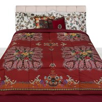 Etro Toledo Quilted Bedspread Red