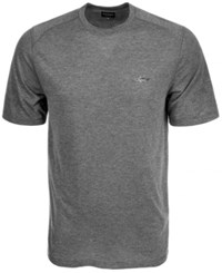 Greg Norman For Tasso Elba Soft Touch T Shirt Grey Wall