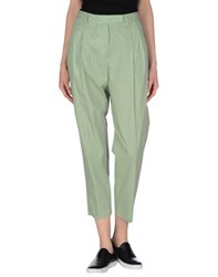 Alberto Biani Trousers Casual Trousers Women Green