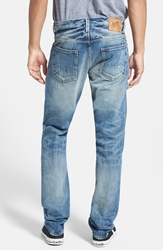 Prps 'Fury' Straight Leg Selvedge Jeans 5 Year Wash