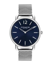 Coach 40Mm Delancey Slim Bracelet Watch Silver