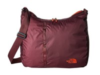 The North Face Flyweight Tote Fig Fiery Red Handbags