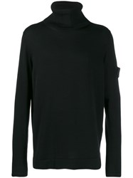 Stone Island Shadow Project Turtleneck Jumper Black