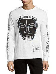 Eleven Paris Basquiat Cotton Pullover White
