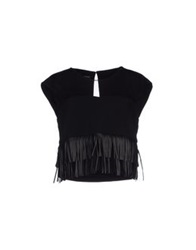 Annarita N. Tops Black