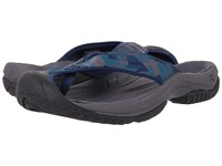 Keen Waimea H2 Dress Blues Deep Teal Men's Sandals Gray