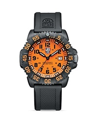Luminox Navy Seal Colormark 3059 Watch 44Mm Orange Black