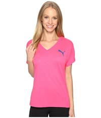 Puma Elevated Sporty Tee Knockout Pink Women's T Shirt
