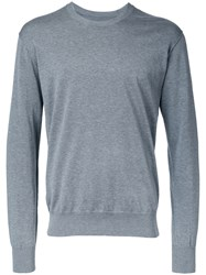 Attachment Classic Knitted Sweatshirt Grey