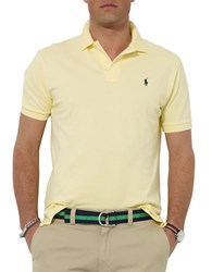 Polo Ralph Lauren Classic Fit Cotton Mesh Wicket Yellow