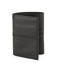 Cole Haan Leather Trifold Wallet Chocolate