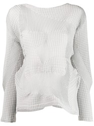 Issey Miyake Deconstructed Knit Jumper 60