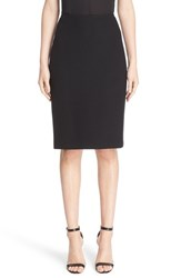 St. John Women's Collection Micro Boucle Pencil Skirt