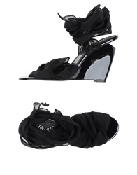 Miss Sixty Sandals Black
