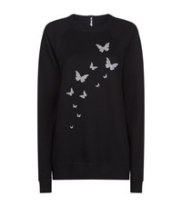 Ultracor Swarovski Butterfly Sweatshirt Grey