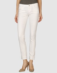 Acht Denim Denim Trousers Women Sky Blue