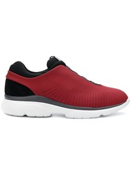 Z Zegna Sprinter Sneakers Red