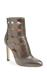 Sarah Jessica Parker Sjp 'Linda' Cutout Boot Women Pewter Leather