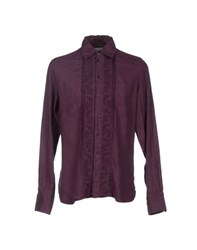 Ermanno Scervino Scervino Street Shirts Shirts Men Deep Purple