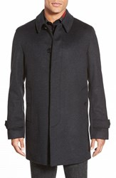 Men's Burberry 'Roeford' Wool And Cashmere Topcoat