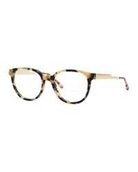 Stella Mccartney Round Fashion Glasses Spotty Tortoise