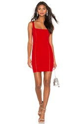 Nookie Chicago Mini Dress Red