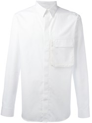 Givenchy Flap Pocket Shirt White
