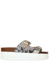 Kg By Kurt Geiger 60Mm Nola Printed Faux Leather Sandals