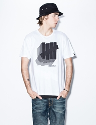 Undefeated White East Strike T Shirt