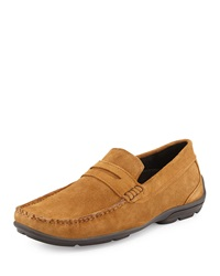 Ben Sherman Walter Suede Penny Loafer Tan