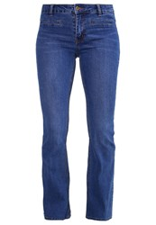 Evenandodd Bootcut Jeans Dark Blue Denim Dark Blue Denim