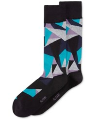 Alfani Men's Shard Socks Only At Macy's Black