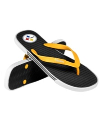 Forever Collectibles Pittsburgh Steelers Thong Sandals
