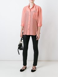 Etoile Isabel Marant 'Lixy' Shirt Pink And Purple